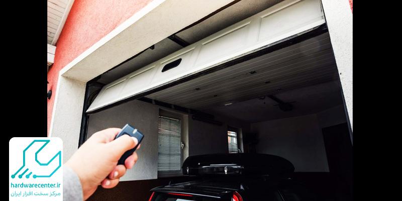 تنظیم زمان بسته شدن درب پارکینگ