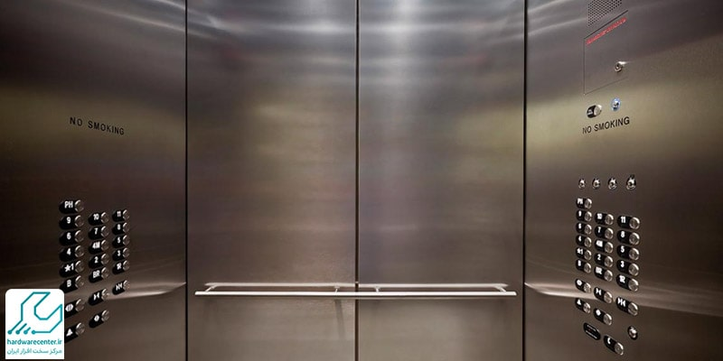 درب اتوماتیک برای آسانسور